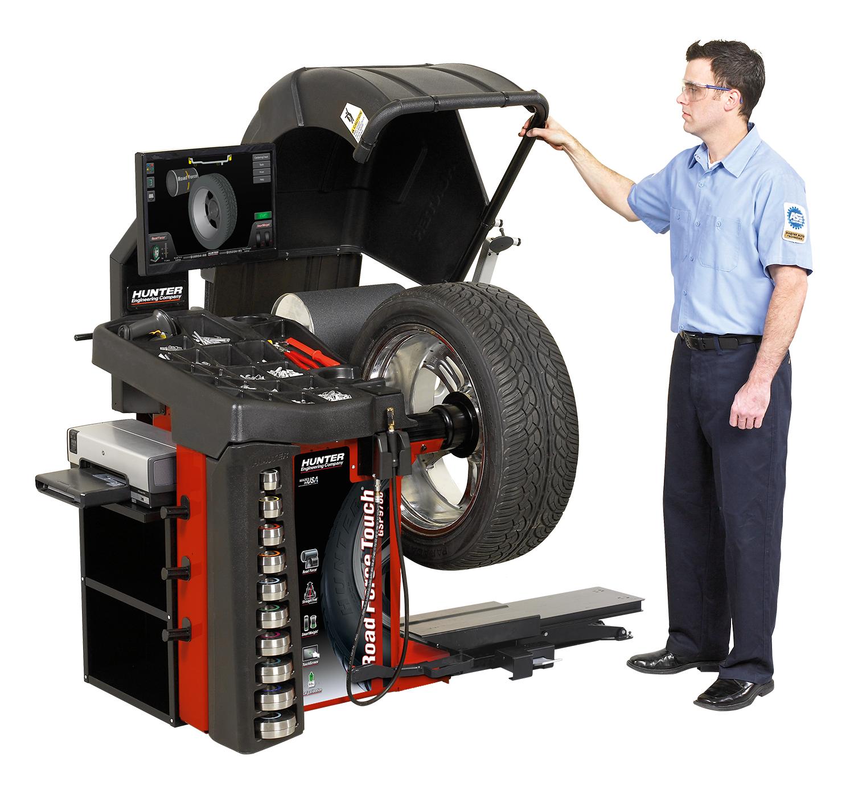 Hunter Wheel Balancer Hunter Wheel Balancer Systems