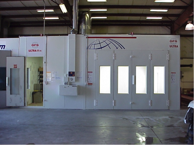 Global Ultra Paint Booth